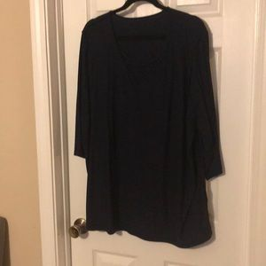 Catherine's criss cross tunic